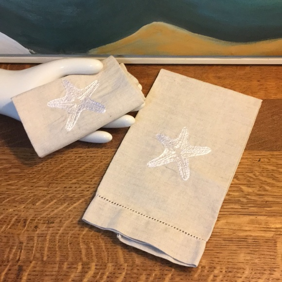 Other - Set of Two Embroidered Tea Towels